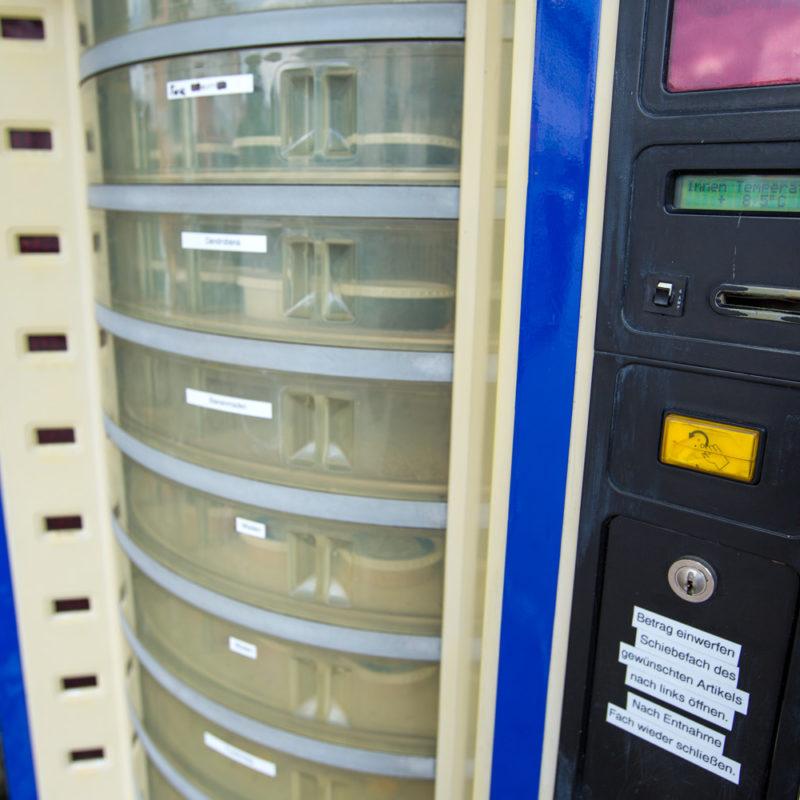 Unser Futterautomat in Füssen